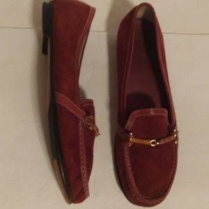 Cole Haan suede flats size 10B